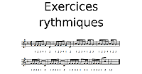 Exercices rythmiques