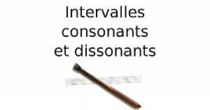 Intervalles consonants et dissonants