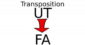 Transposer une partition en UT pour un instrument en FA
