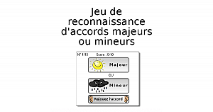 Accords majeurs ou mineurs?