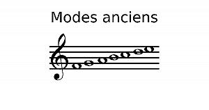 Modes anciens