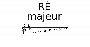 Gamme de Ré Majeur