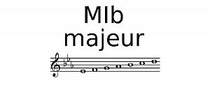 Gamme de Mib Majeur