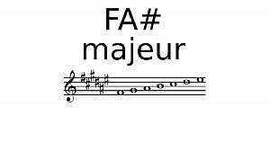 Gamme de Fa# Majeur