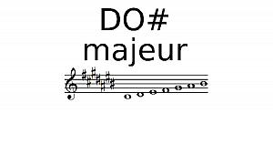 Gamme de Do# Majeur