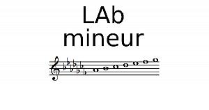 Gamme de Lab mineur