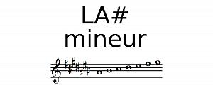 Gamme de La# mineur
