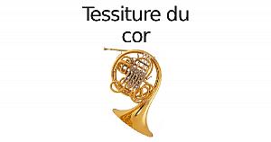 Tessiture du cor