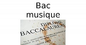 Bac musique