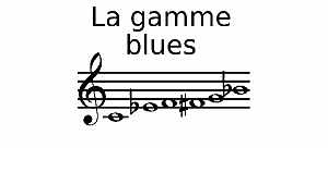Gamme blues