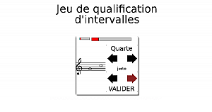 Jeu de qualification d'intervalles