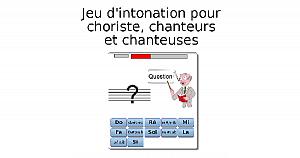 Jeu d'intonation (choristes, chanteurs et chanteuses)