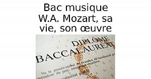 Mozart, sa vie, son œuvre