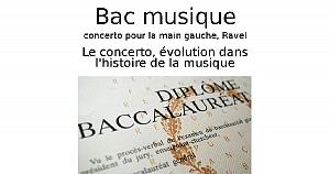 Le concerto, évolution dans l'histoire de la musique