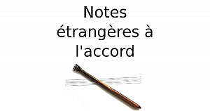 Notes étrangères à l'accord
