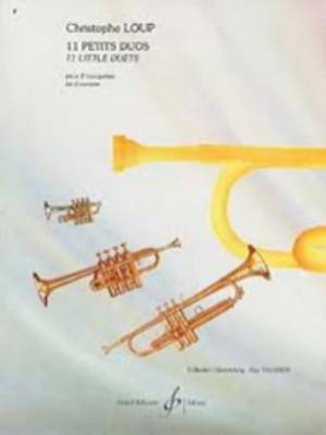 11 petits duos pour trompette ou cornet couverture
