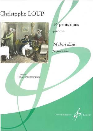 14 petits duos pour cor - christophe loup - couverture