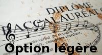 Baccalauréat musique option légère