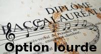 Baccalauréat musique option lourde