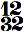 chiffrage de mesure 12/32