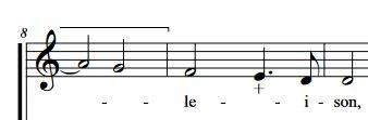 extrait de Missa Ad majorem Dei gloriam d'André Campra