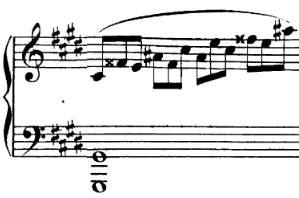 fa double dièse dans la sonate pour piano de beethoven opus 27 no2