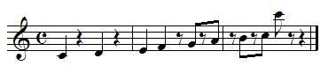 Où se trouvent les silences dans une mélodie
