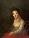 Constanze Mozart portrait de Lange