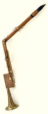 Cor de basset par Hammig vers 1790