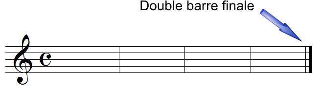 double barre finale