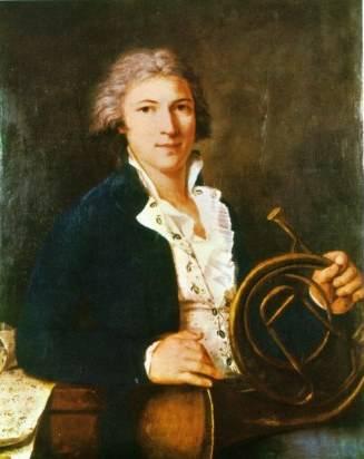 cor naturel, Portrait du corniste Frédéric Nicolas Duvernoy (1765-1838)