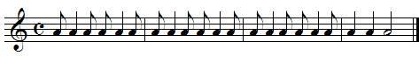 Exercice rythmique autour des syncopes