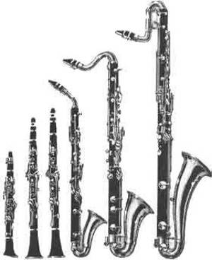 La famille des clarinettes