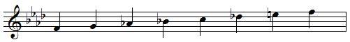 Fa mineur harmonique