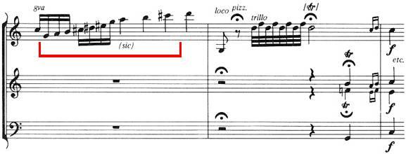 Gamme par ton, Ein musikalischer Spaß K. 522, Divertimento pour 2 cors et quatuor à corde