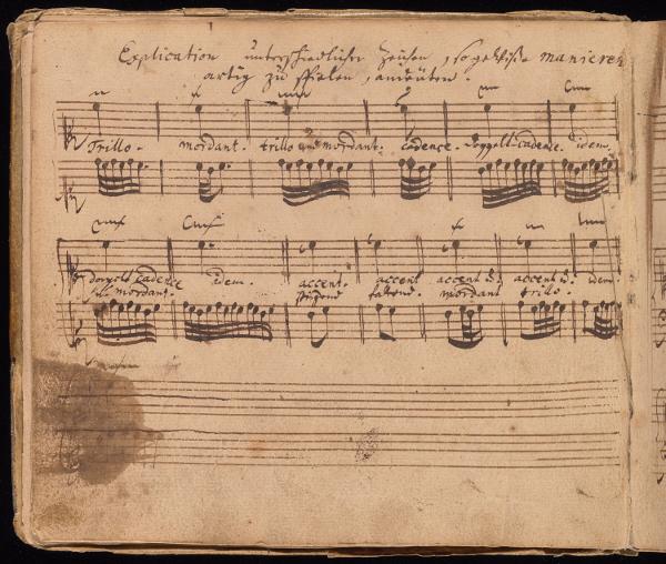 Klavierbüchlein für Wilhelm Friedemann Bach de J.S. BACH