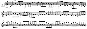 Lecture de note en clef de SOL (de C4 à G5)