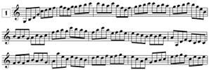 Lecture de note en clef de SOL de G3 à C6