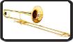 Exercice de lecture de note pour tromboniste