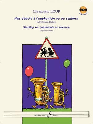 Mes débuts à l'euphonium ou au saxhorn couverture