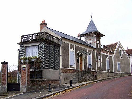 Maison de Ravel à Montfort-l'Amaury en 1921