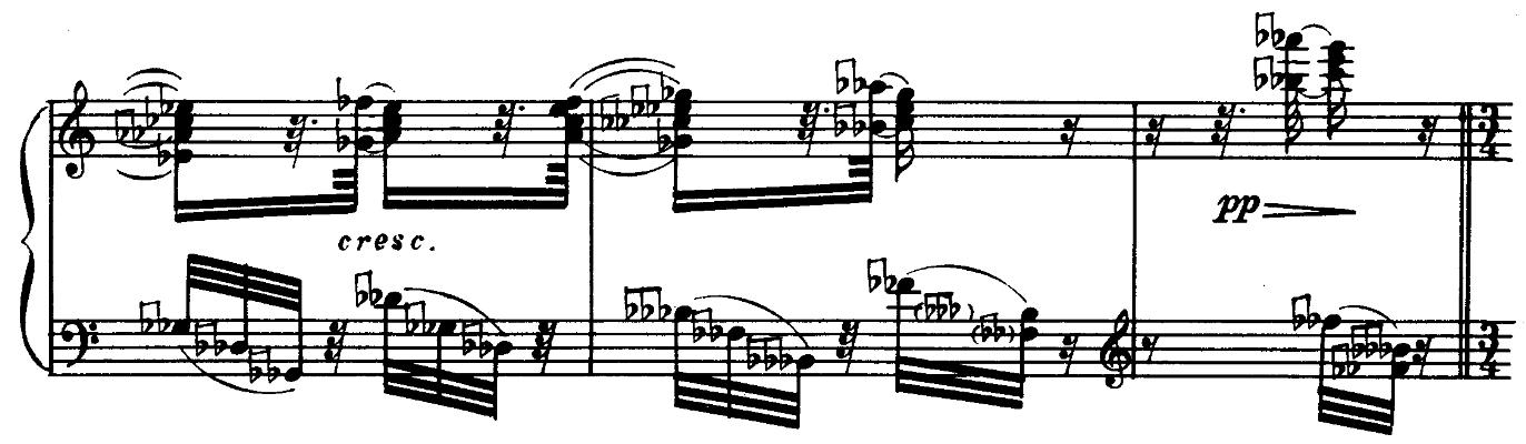 Piano Sonata n°1, Nikolai Roslavets (Roslawez)