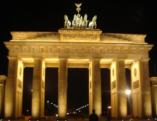 La porte de Brandebourg, Berlin