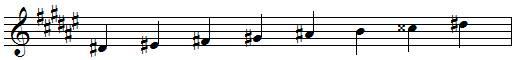 RÉ dièse mineur harmonique