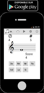 Application android pour apprendre à lire la musique