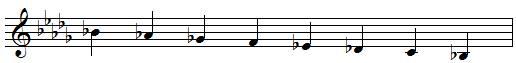 sib mineur mélodique descendante