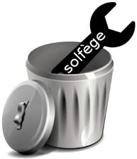 le solfège à la poubelle