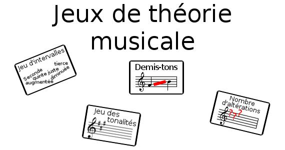 Jeux de théorie musicale
