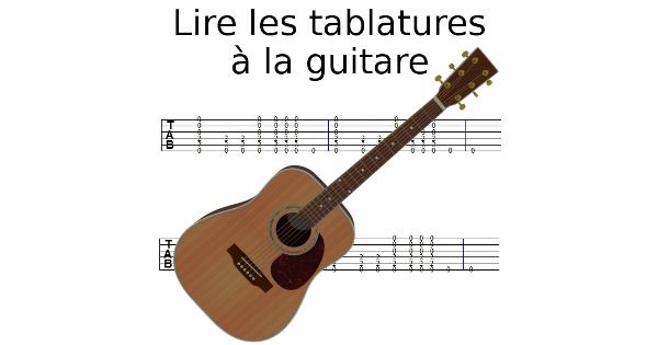 lire les tablatures la guitare apprendre le solf ge. Black Bedroom Furniture Sets. Home Design Ideas