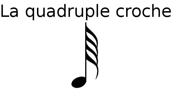 La quadruple-croche